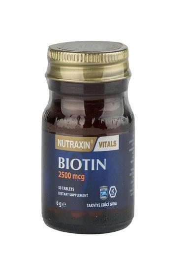 Nutraxin Nutraxin Biotin 2500mcg 50 Tablet Renksiz